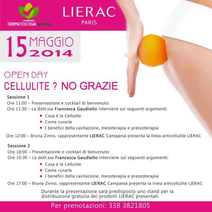 dermatologo napoli francesca gaudiello open day cellulite